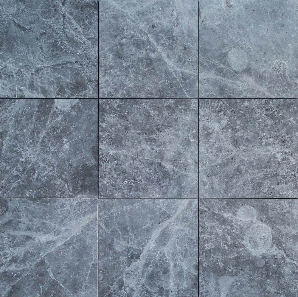 FREE Samples: Kesir Marble Tile - Polished Tundra Earth Gray / 12 ...