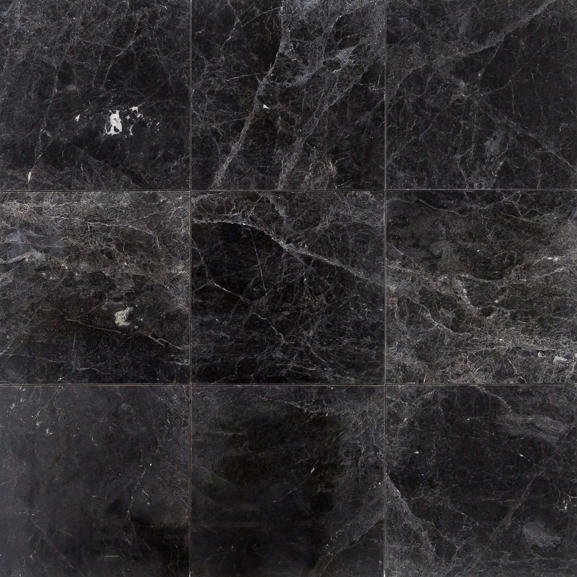 Free Samples Troya Marble Tile Sirius Black 18x18 Polished