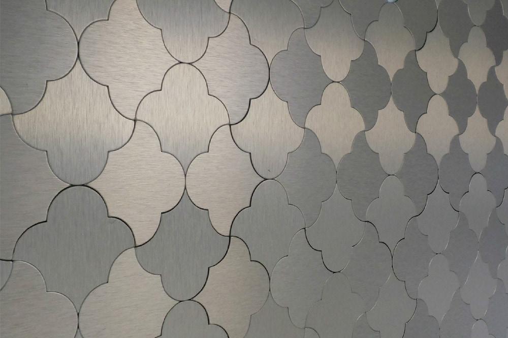gl stone u0026 tile mosaic tile peel u0026 stick metal series gold damask pattern