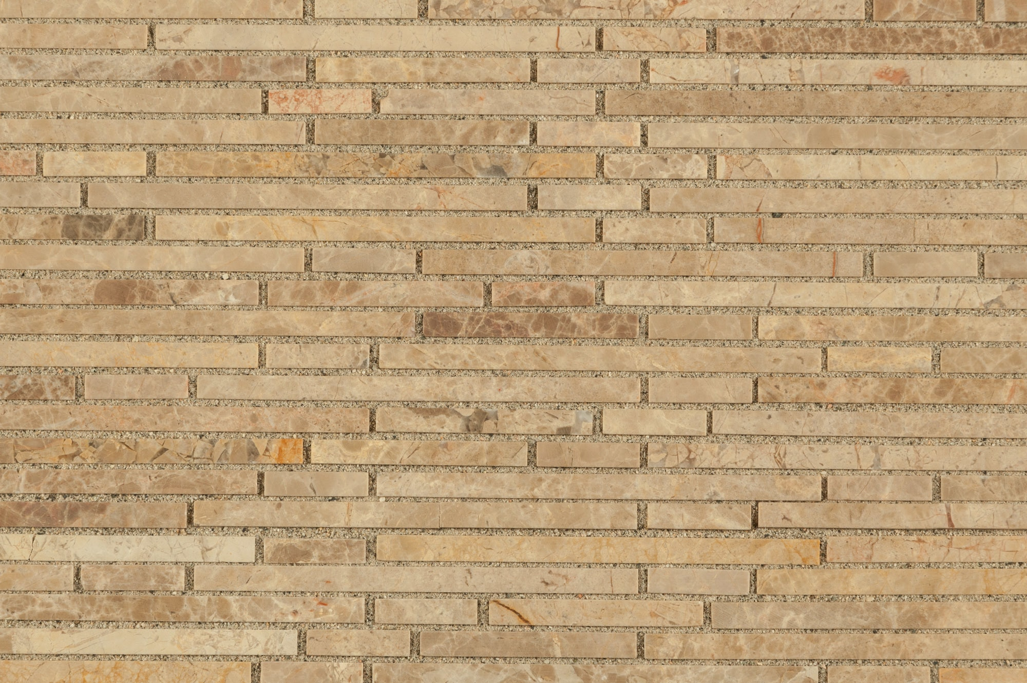 Cabot Marble Mosaic - Marble Series Crema Ivy Bamboo Stone / Honed ...