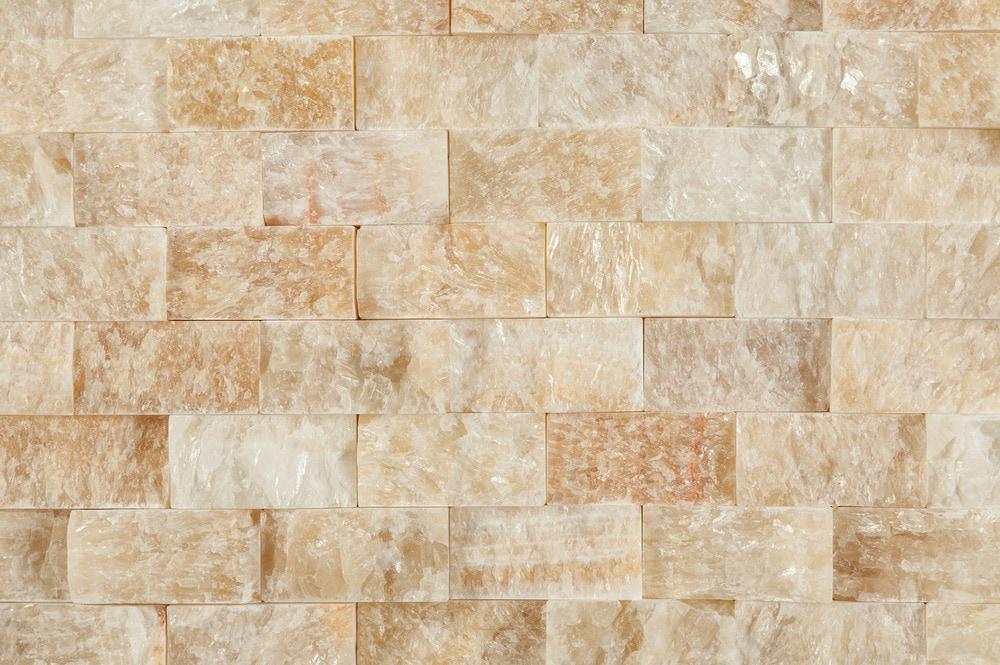 Cabot Mosaic Tile Split Face Patterns Soleil Onyx X - 1x2 tile patterns