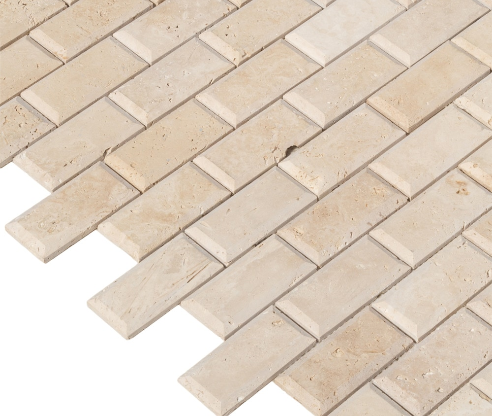 10096593-classic-light-travertine-mosaic-2x4-unfilled-bevelemultiple-angle