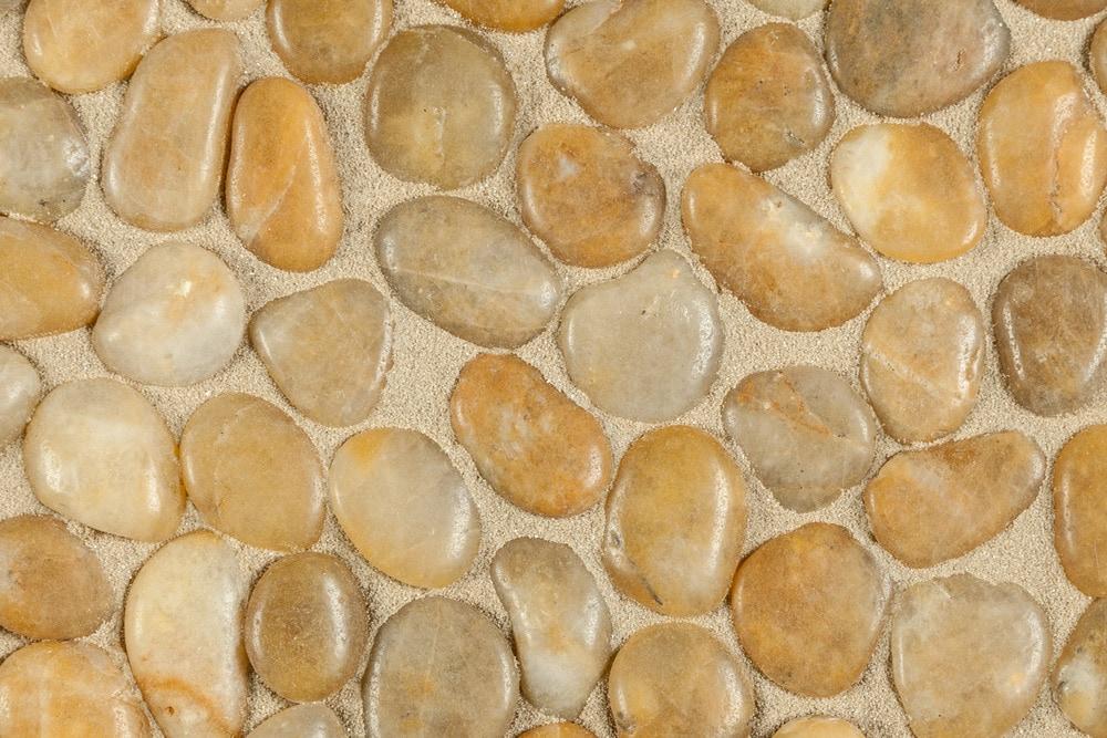Optico Mosaic Tile Tumbled Stone Series Amber Random