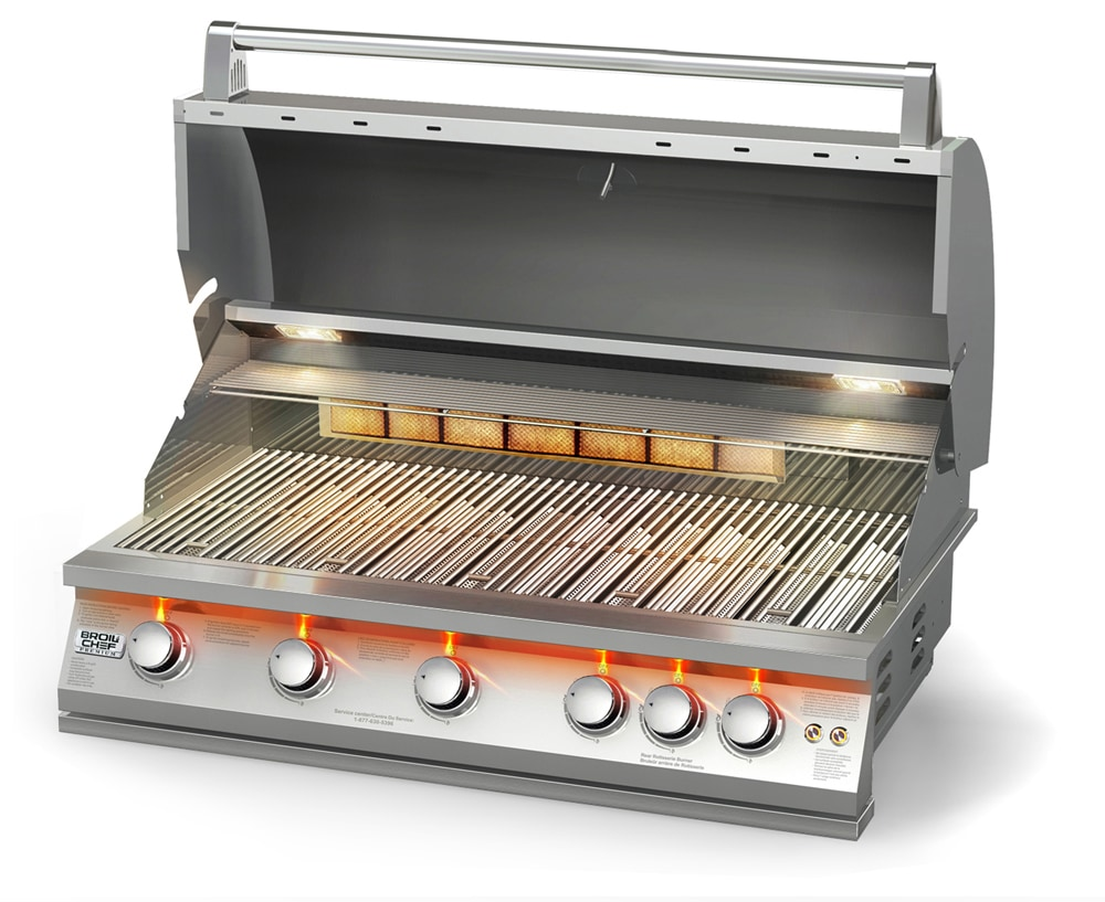 Clean Natural Gas Grill