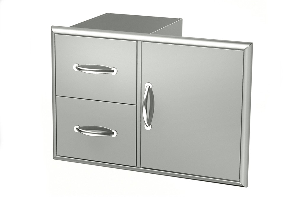 10104989 Broilchef Double Drawer Sup Angle New