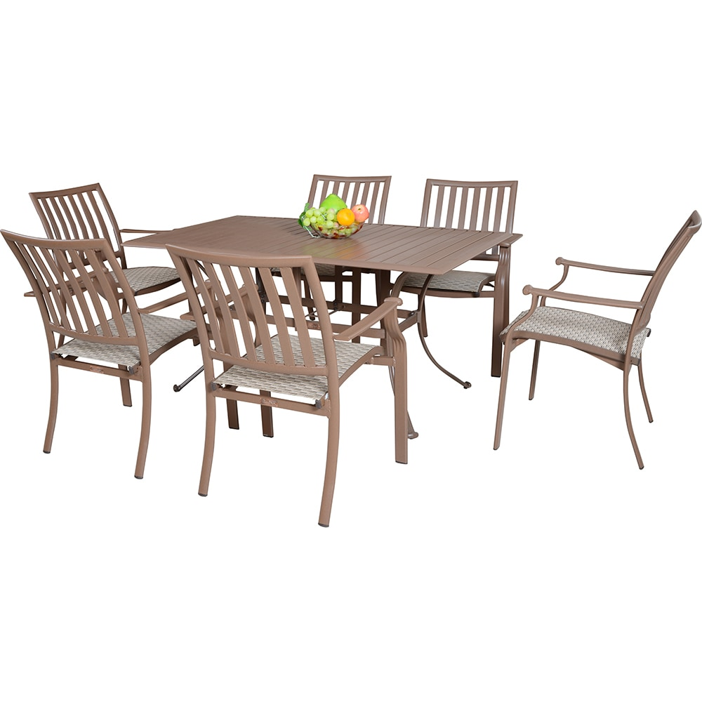 Panama Jack Island Breeze Collection Sling Dining Set 7 Piece
