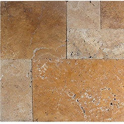 Travertine Pavers   Pattern Sets   Tuscany Riviera / Pattern Set / Tumbled