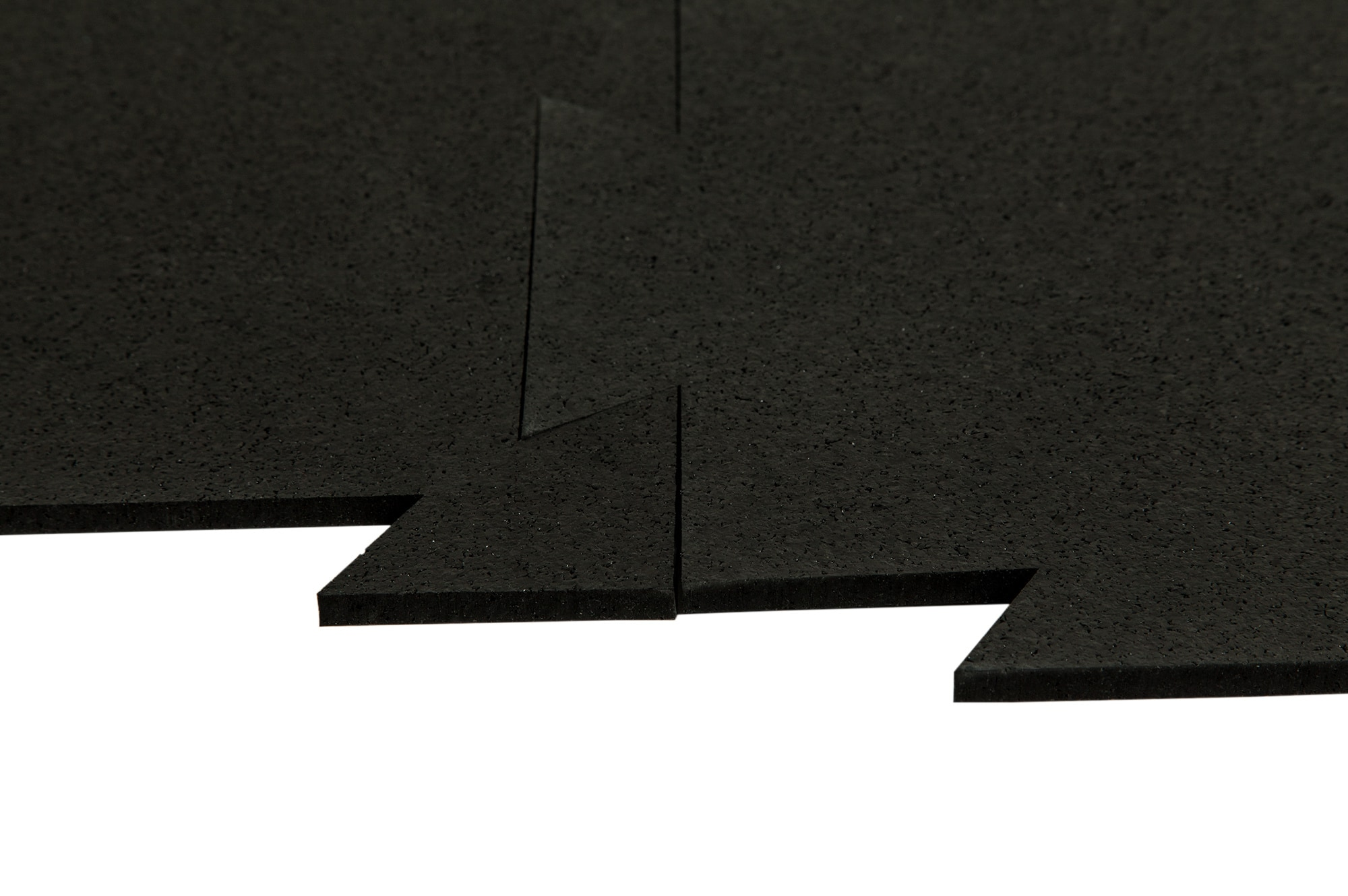 Brava Rubber Floor Tiles - Interlocking Endurance Collection Basalt ...