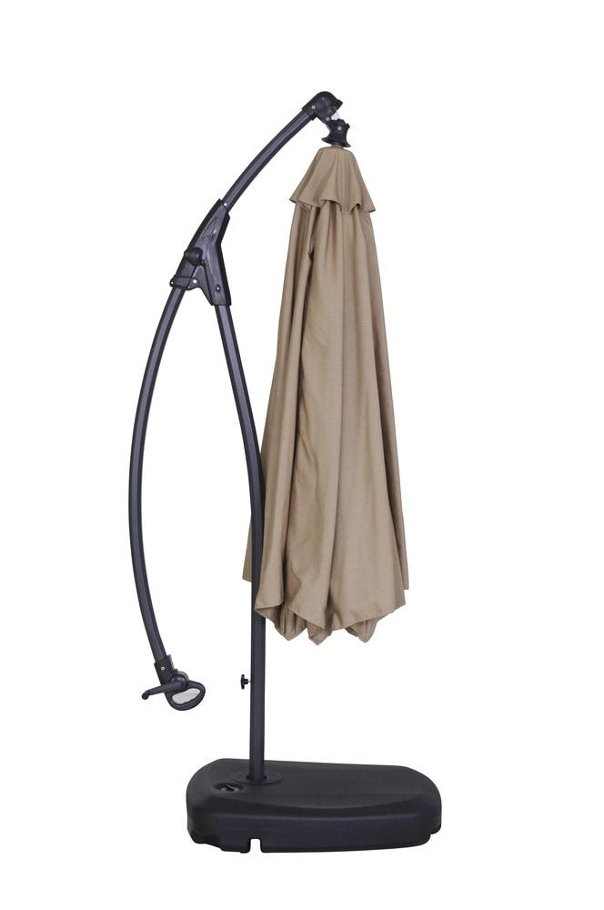 Kontiki Offset Patio Umbrellas Signature Round Umbrella With