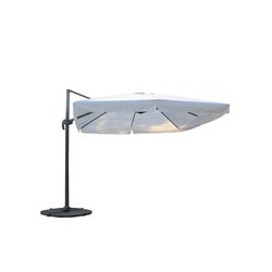 Kontiki Shade U0026 Cooling Offset Patio Umbrellas