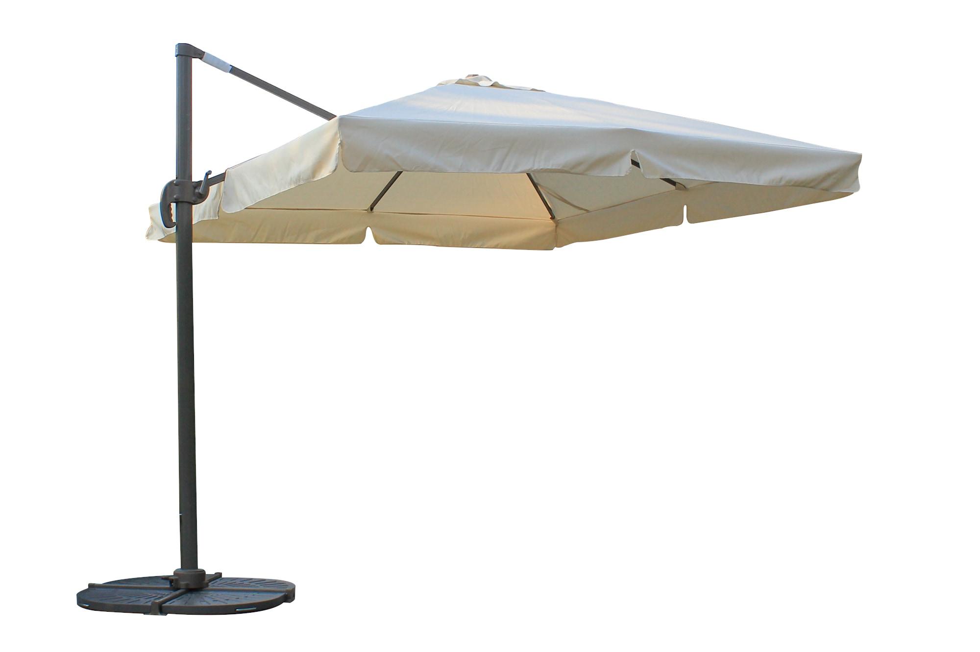 Wonderful Kontiki Shade U0026 Cooling Offset Patio Umbrellas 10 Ft Square Offset Roma  Umbrella   Taupe