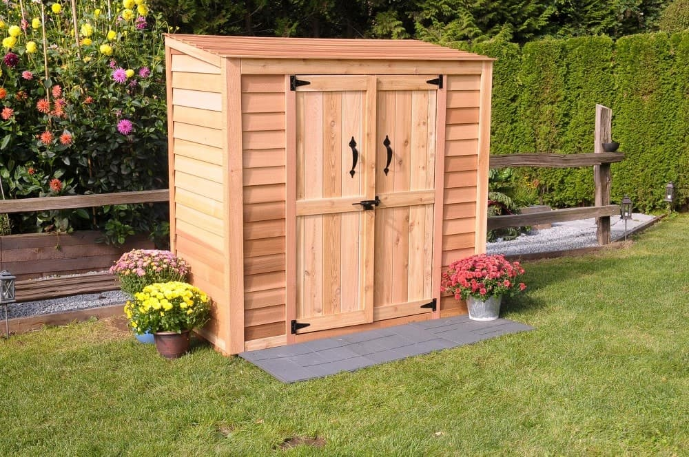 Garden Sheds With Patio Wall And Shed Construction Worcester Brick