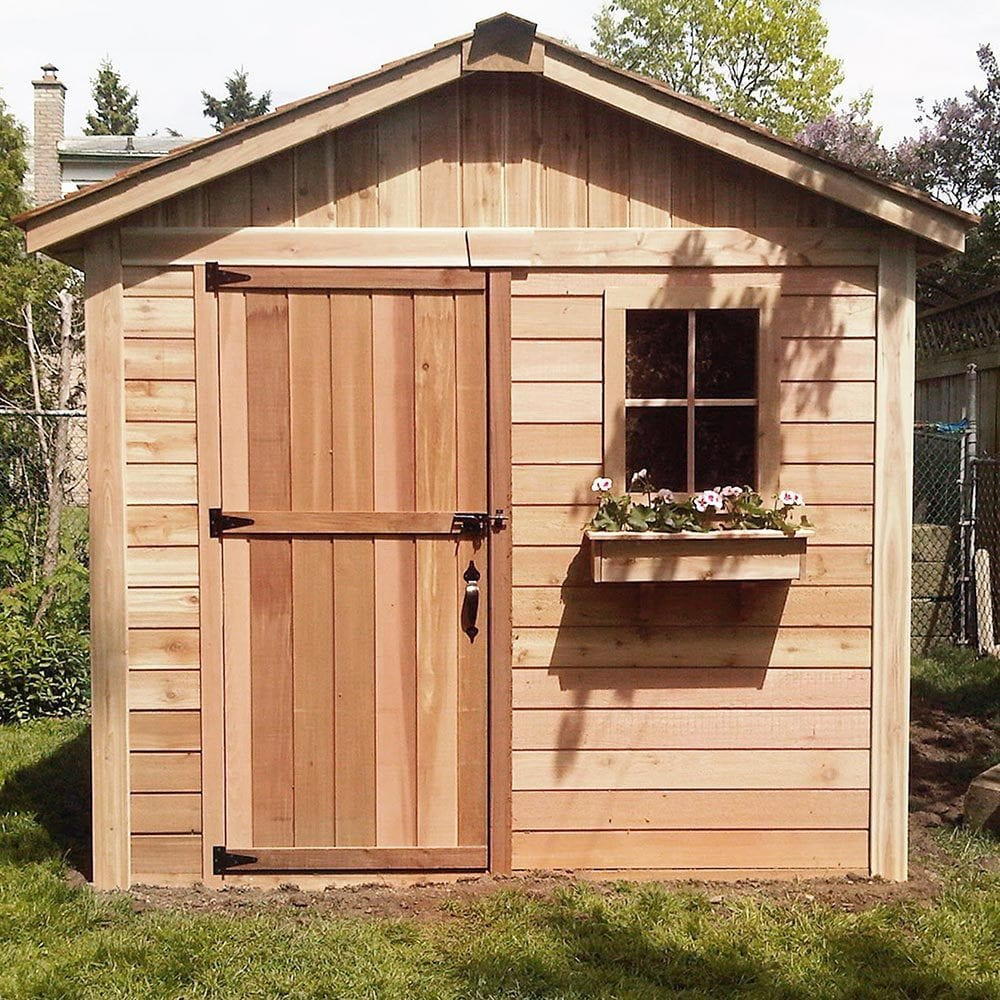 outdoor living today storage shed lifestyle series 8 39 x