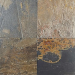 Free samples: cabot slate tile french pattern china multi.