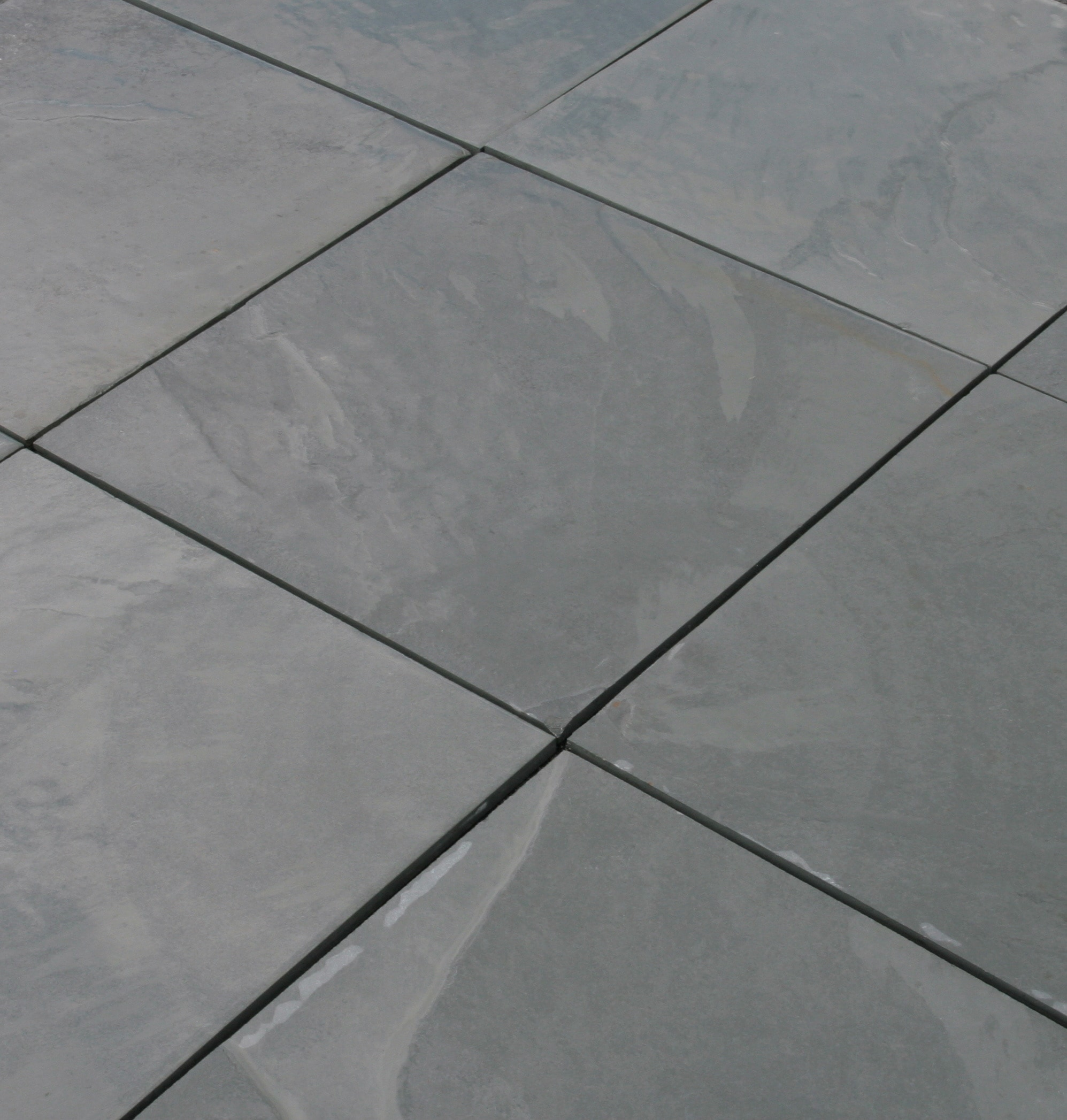 Slate tile builddirect slate tile montauk blue natural cleft 12x12 dailygadgetfo Choice Image