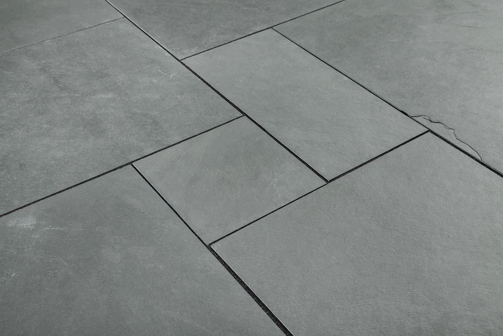 Montauk Blue / Versailles Pattern Slate Tile - Versailles Pattern 0