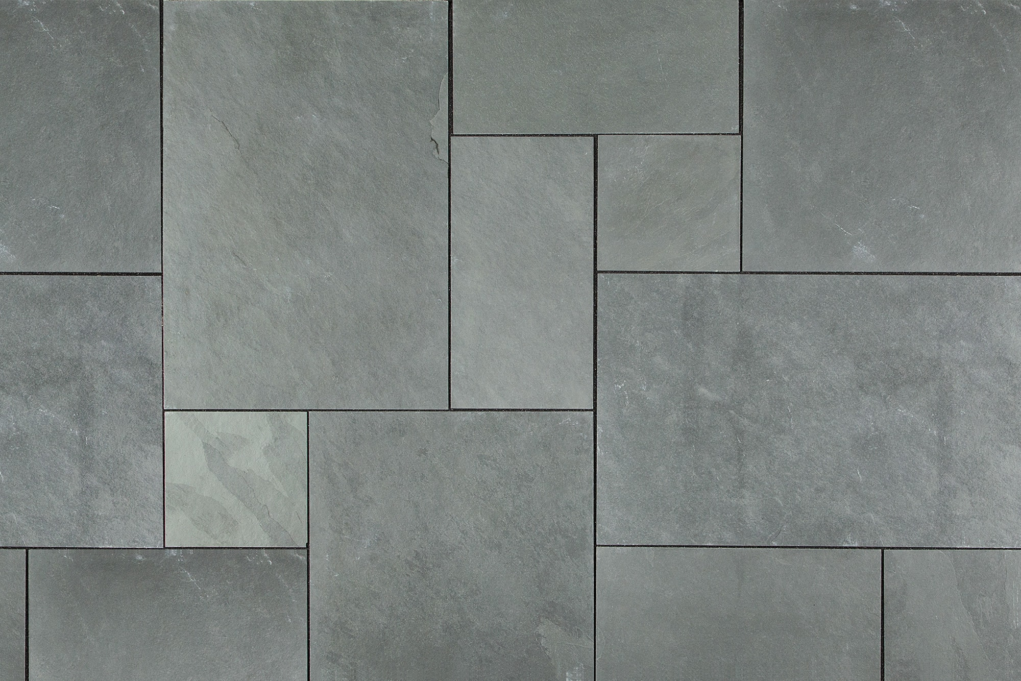 Montauk Black Slate Tile Home Depot Home Improvement