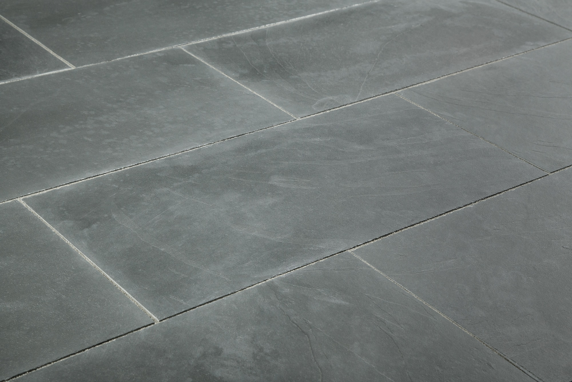 Black Rooms Natural Grey Slate Floor Tiles Gurus Floor