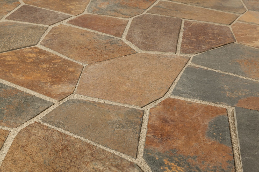 Roterra Slate Tile - Meshed Back Patterns Flag Stone ...