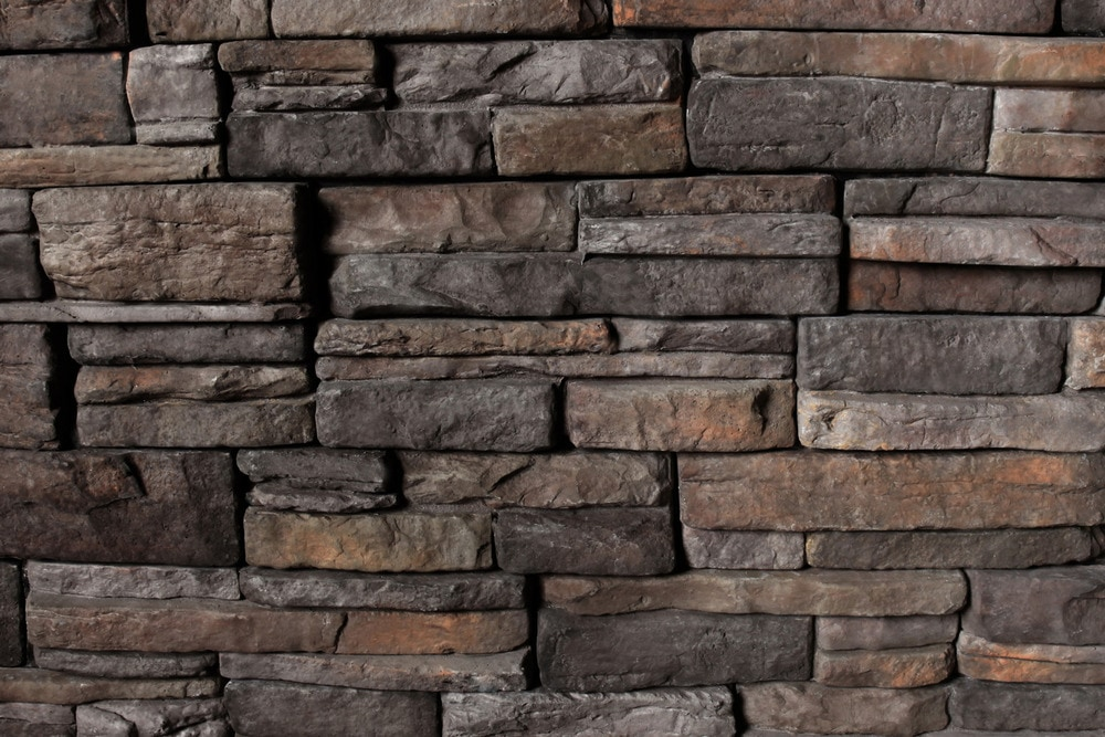Building Stone Veneer : Kodiak mountain stone manufactured veneer ready