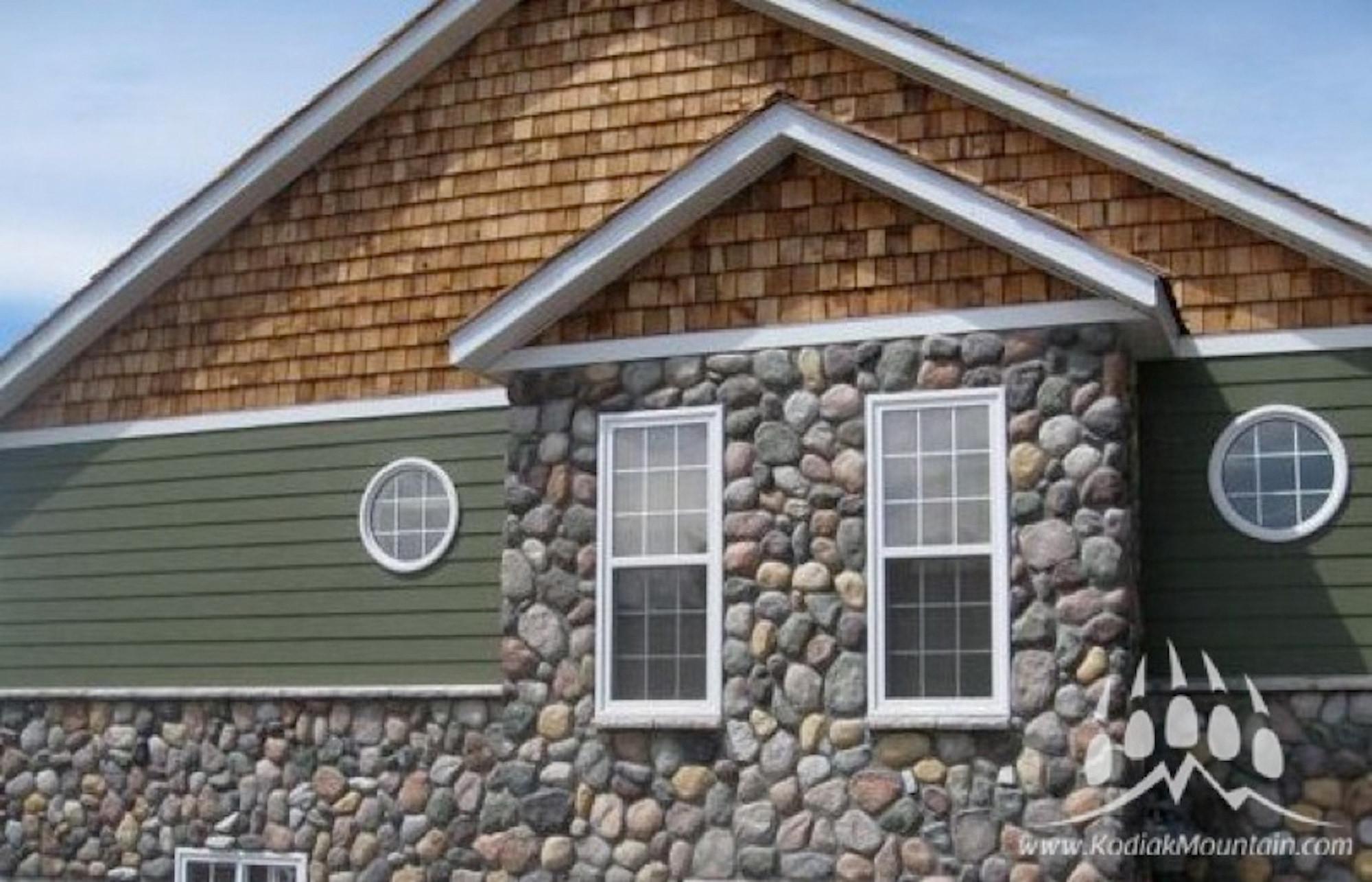 Lovely River Rock House Siding Zc79 Roccommunity
