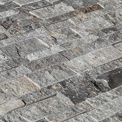 Stone Siding   Travertine Collection   Split Face   Silver   Ledge Stone Pa   Stone Siding   BuildDirect . Exterior Stone Floor Products. Home Design Ideas