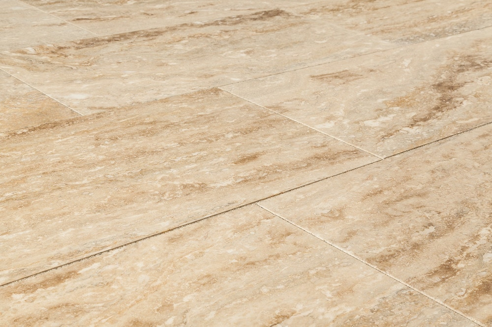 FREE Samples Izmir Travertine Tile Polished Niagara Beige Vein Cut 12x24x12