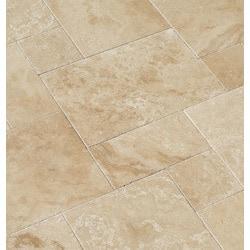 Travertine Tile Patterns izmir travertine tile pattern sets - brushed and chiseled light
