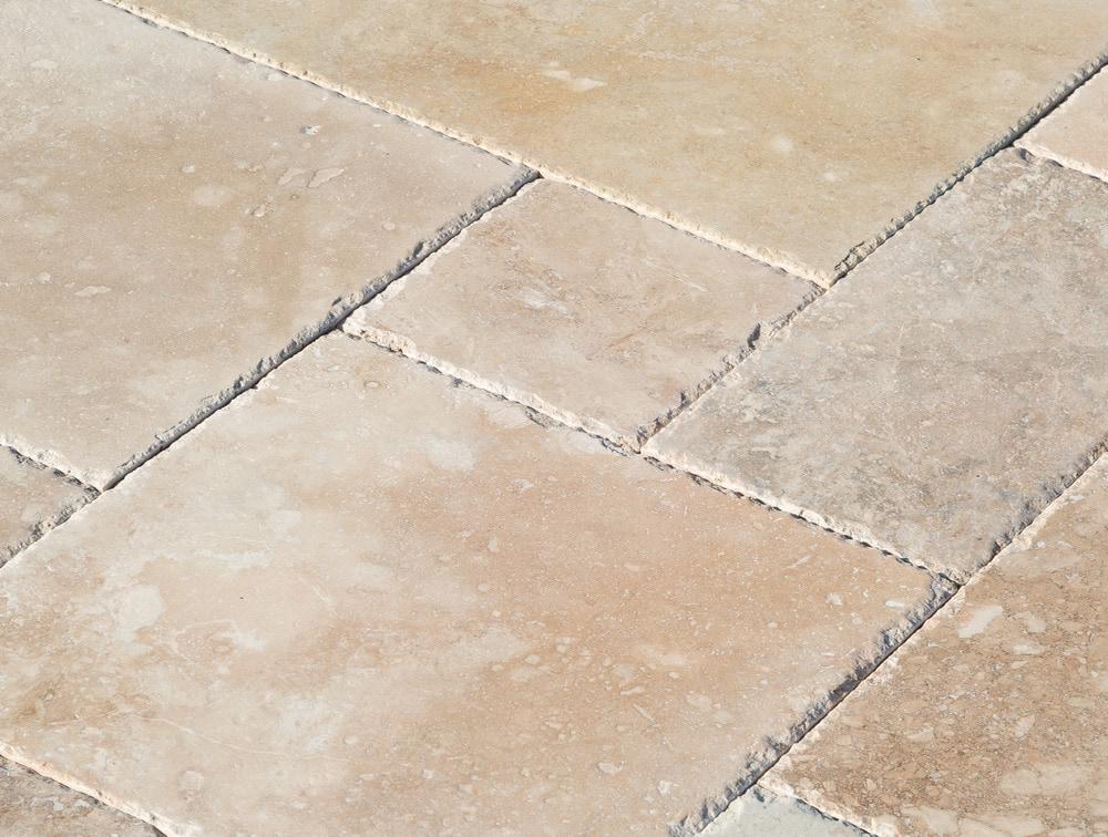 Travertine Tile Patterns izmir travertine tile pattern sets - brushed and filled chiaro