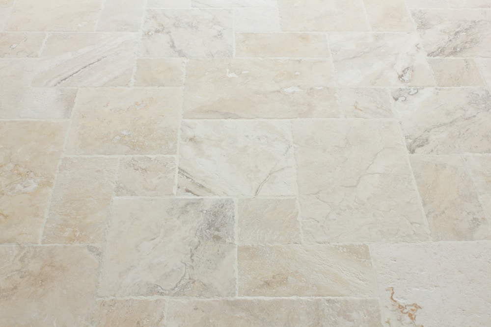 Kesir Travertine Tile Antique Pattern Sets Philadelphia