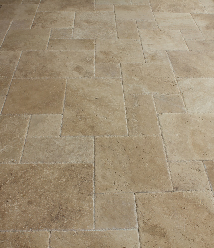 Free Samples Kesir Travertine Tile Antique Pattern Sets
