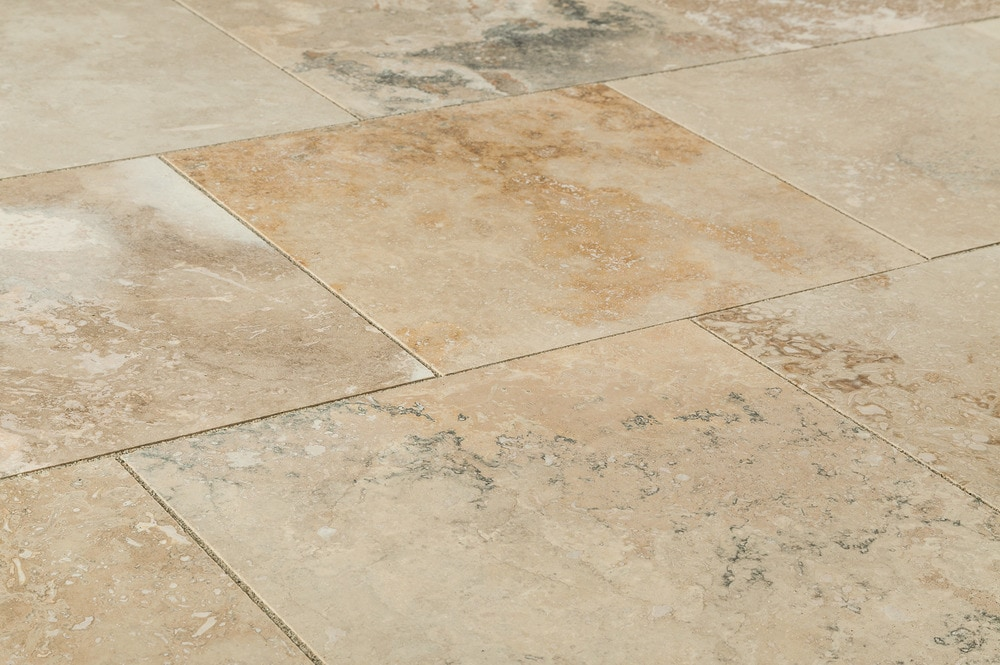 Kesir Travertine Tiles Honed And Filled Mina Rustic 12