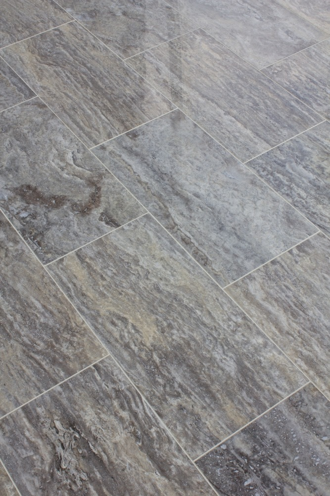 Free Samples Kesir Travertine Tile Polished Silver