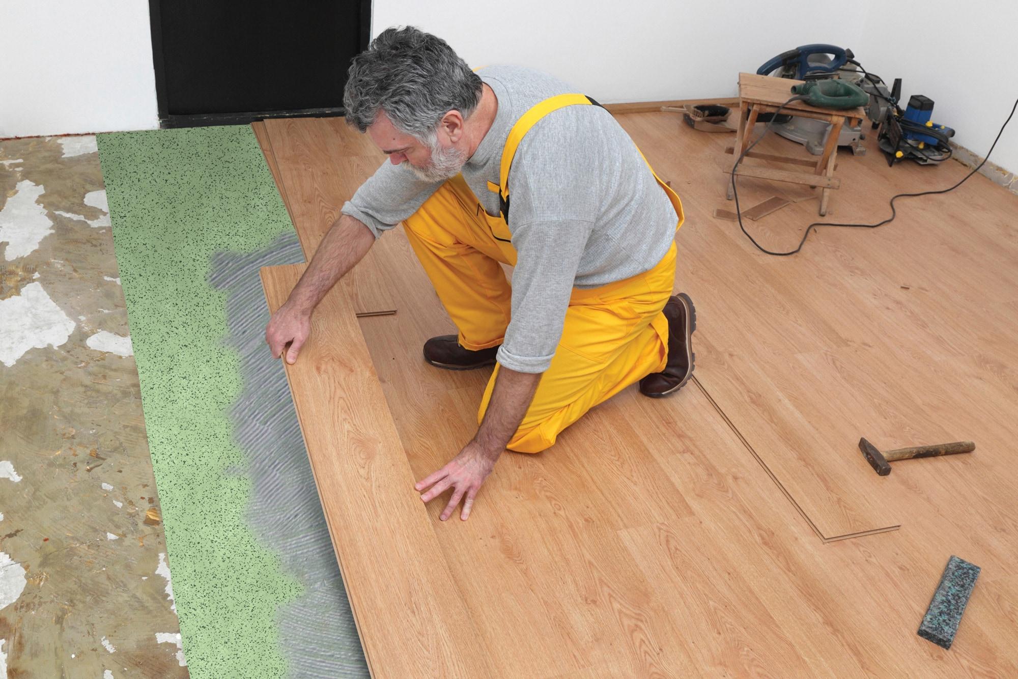 Baylis Sound Reduction Underlayment High Density Wood/Laminate Foam Underlayment - 100 sq ft Roll