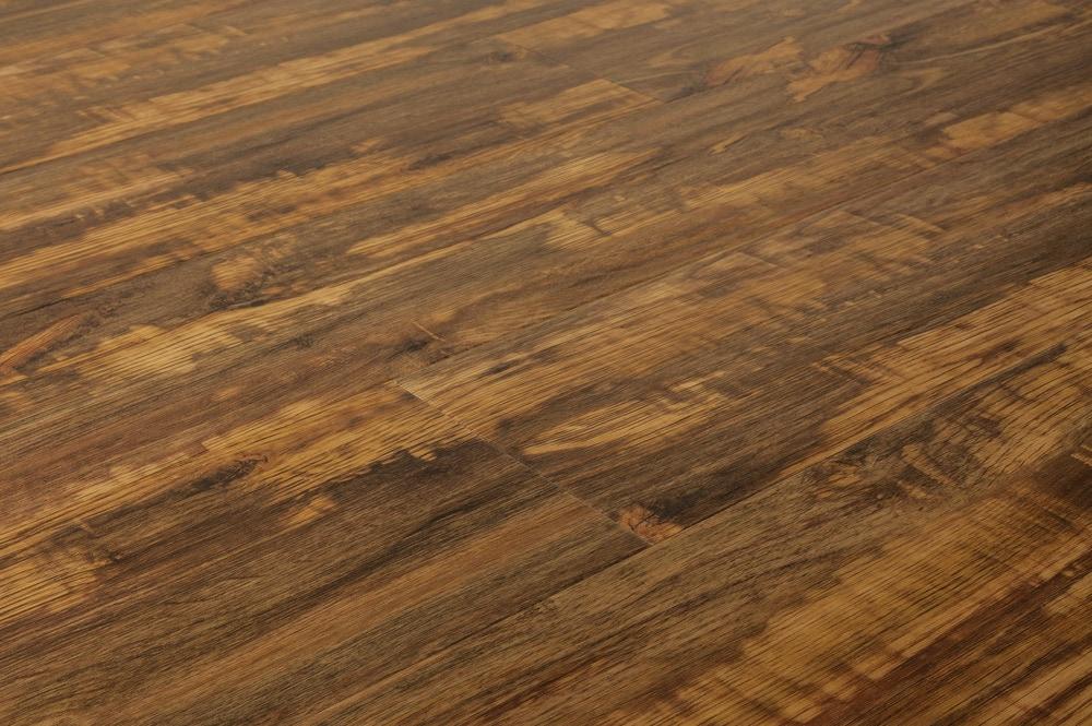 Vesdura Vinyl Planks   5mm PVC Click Lock   Wood Collection Gunstock / 5mm  / PVC / Click Lock