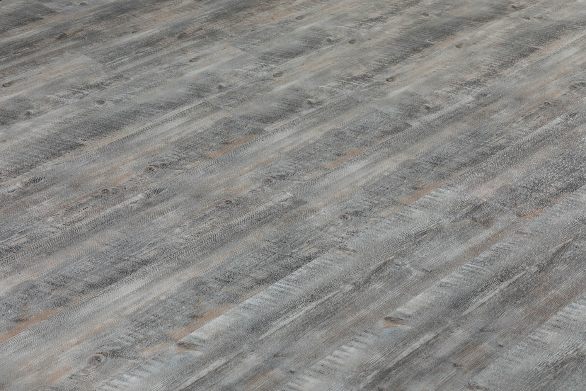 Pewter Brushed French Oak / 6.5mm / SPC / Click Lock Vinyl Planks - 6.5mm SPC Click Lock - XL Jumbo Collection 0