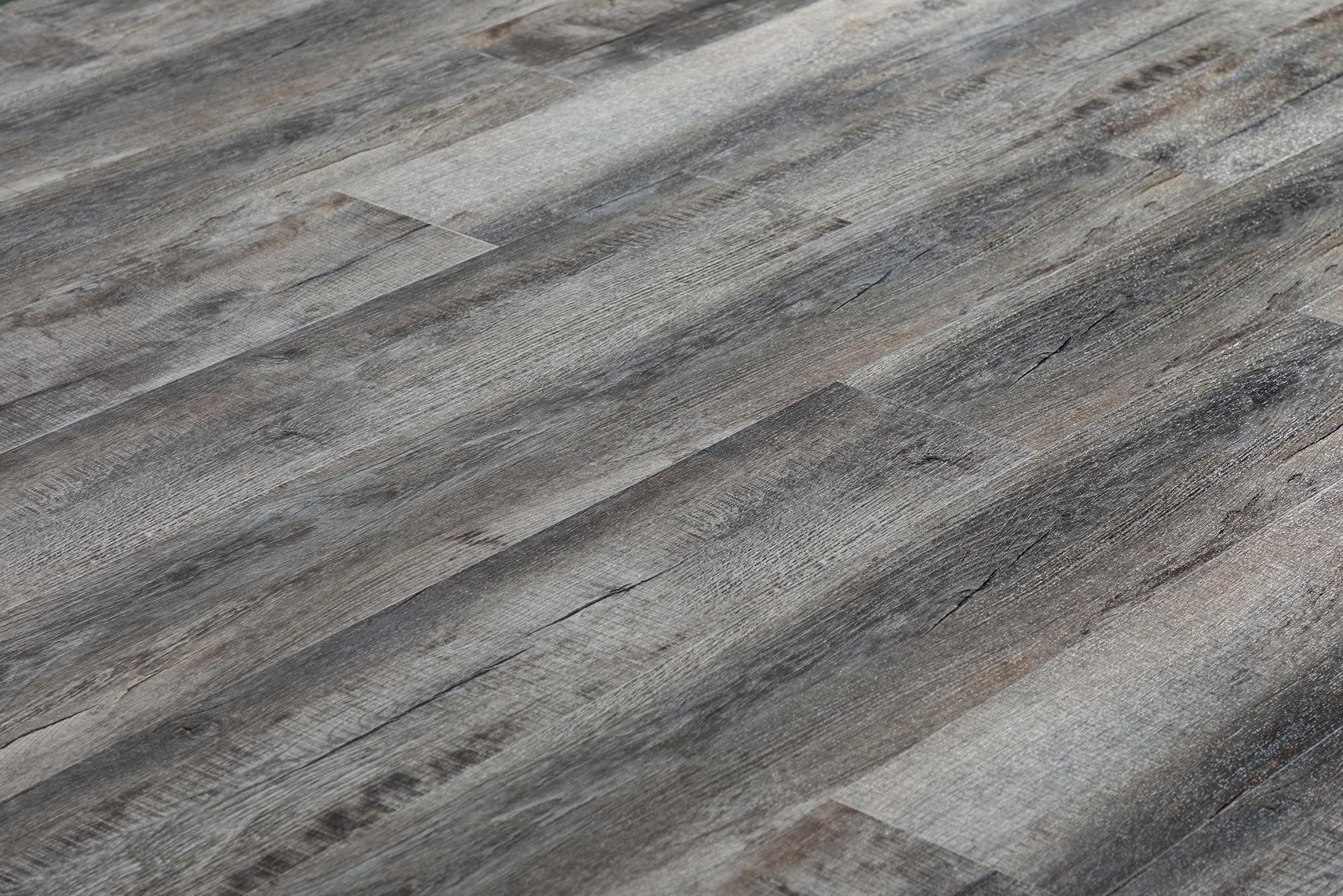 Grey Brushed French Oak / 6.5mm / SPC / Click Lock Vinyl Planks - 6.5mm SPC Click Lock - XL Jumbo Collection 0