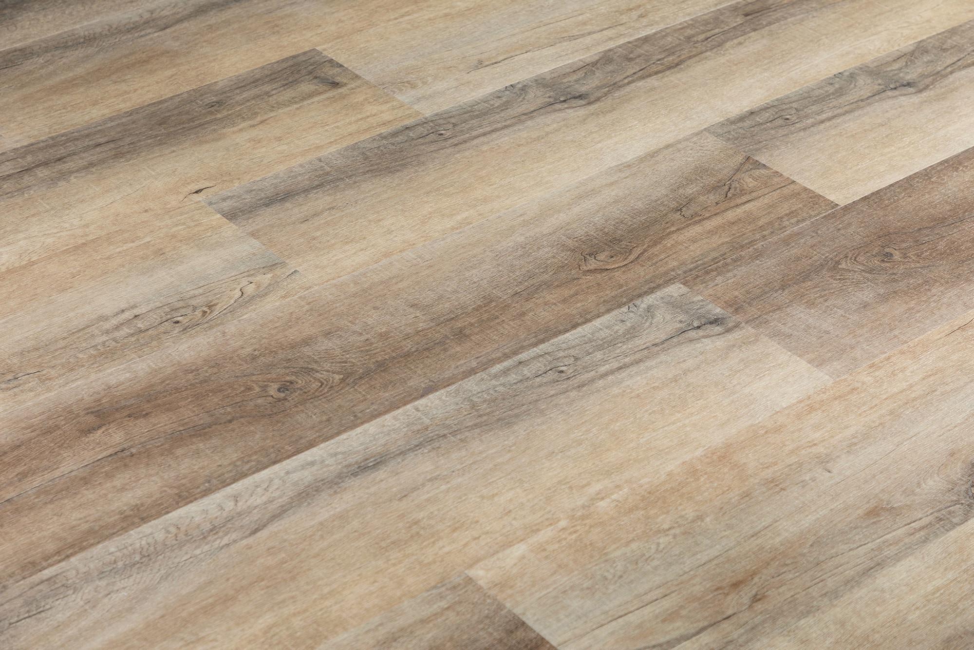 Barrel Sawn French Oak / 6.5mm / SPC / Click Lock Vinyl Planks - 6.5mm SPC Click Lock - XL Jumbo Collection 0