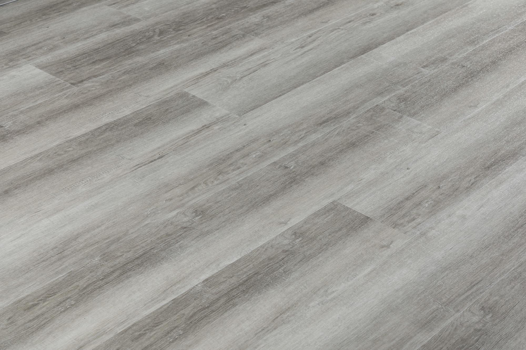 Grey Aged Texture French Oak / 6.5mm / SPC / Click Lock Vinyl Planks - 6.5mm SPC Click Lock - XL Jumbo Collection 0