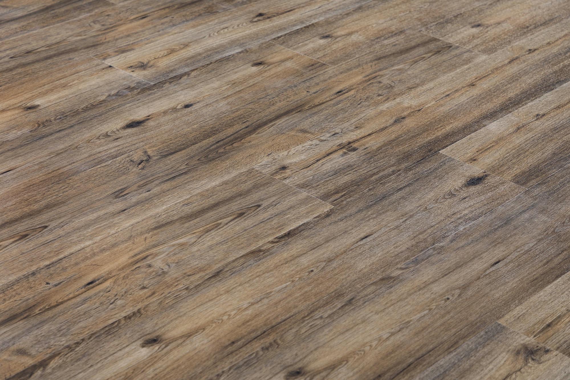 Espresso Texture French Oak / 6.5mm / SPC / Click Lock Vinyl Planks - 6.5mm SPC Click Lock - XL Jumbo Collection 0