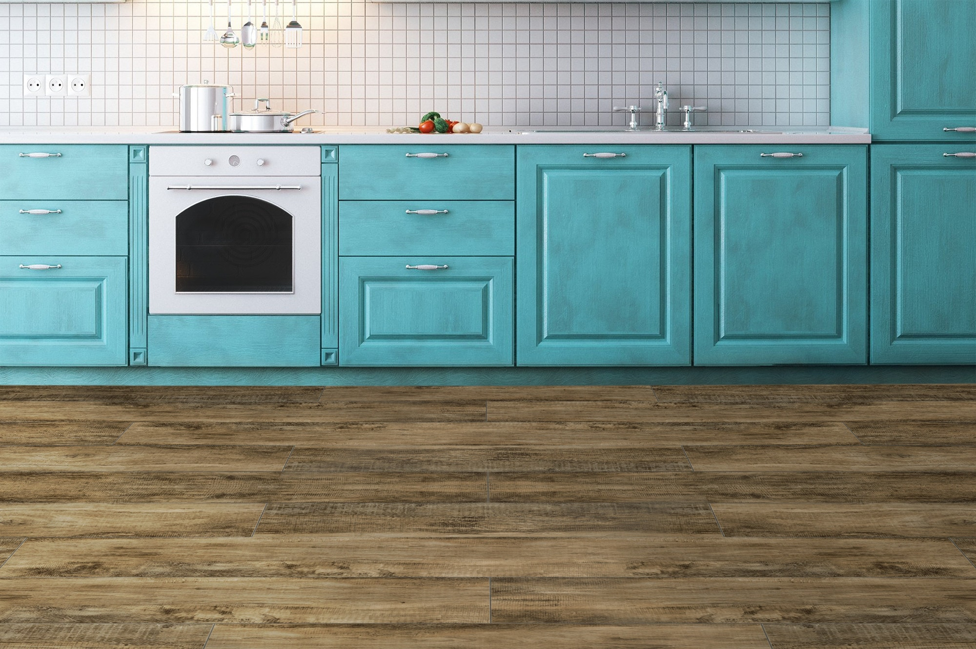 FREE Samples: Vesdura Vinyl Planks - 9.5mm HDF Click Lock - Country ...