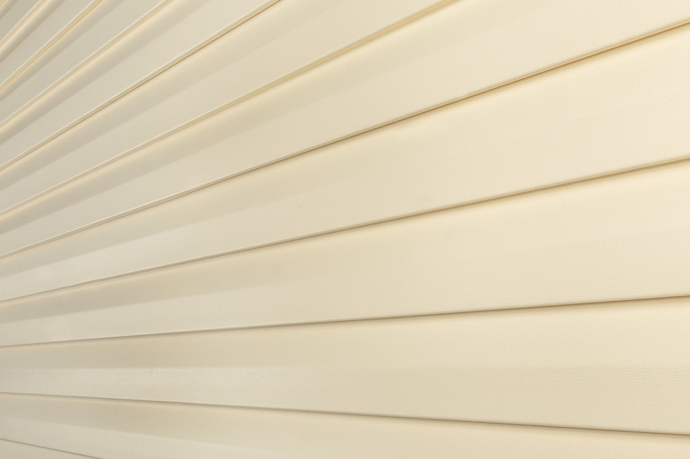 Great barrier vinyl siding premium series cream d5 for What is 1 square of vinyl siding