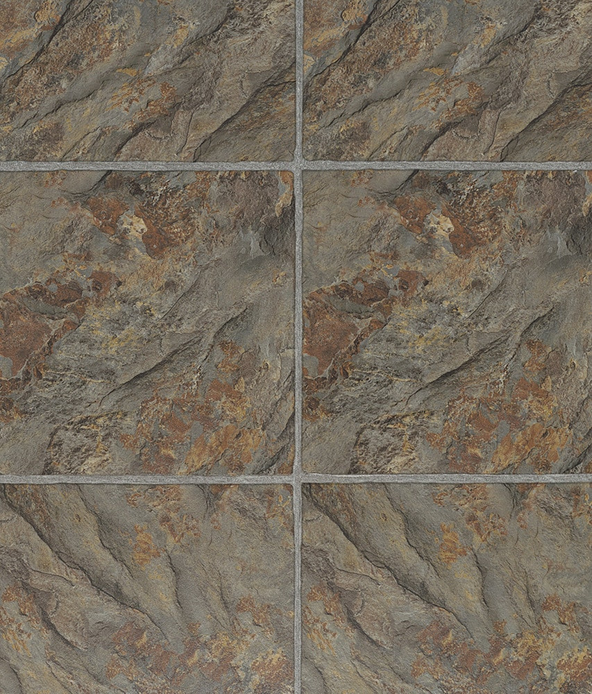 Vesdura vinyl tile 4mm pvc click lock grouted tile collection 10107932 florentine slate sup multi dailygadgetfo Image collections