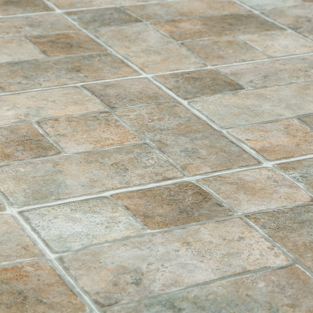 Flagstone vinyl flooring floor matttroy for Carpet and vinyl flooring