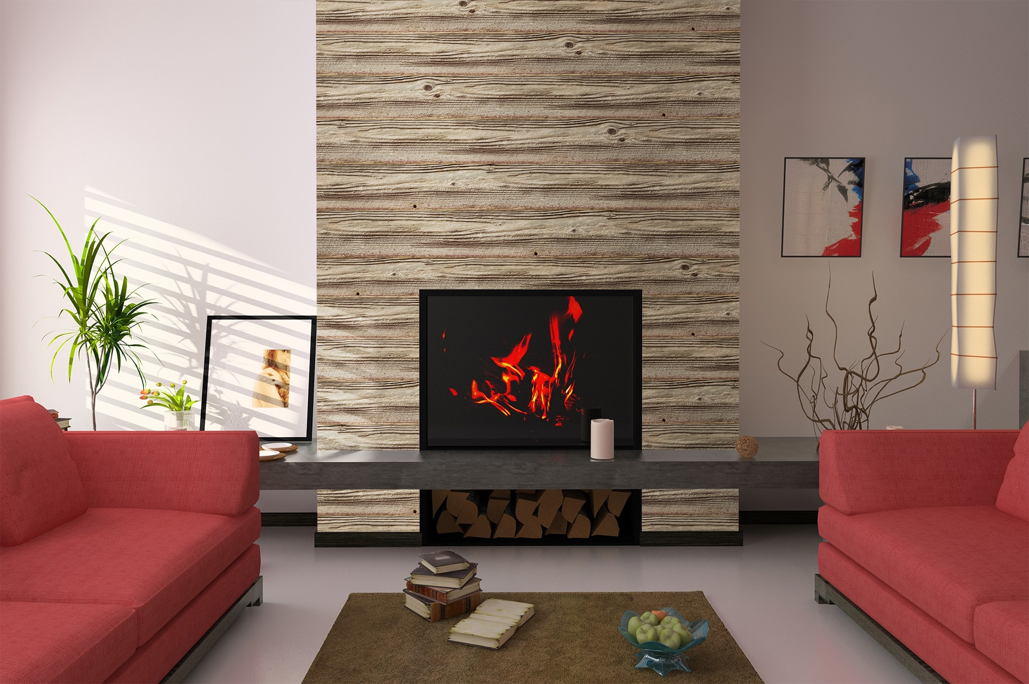 carrick wall paneling decorative print collection old barn wood
