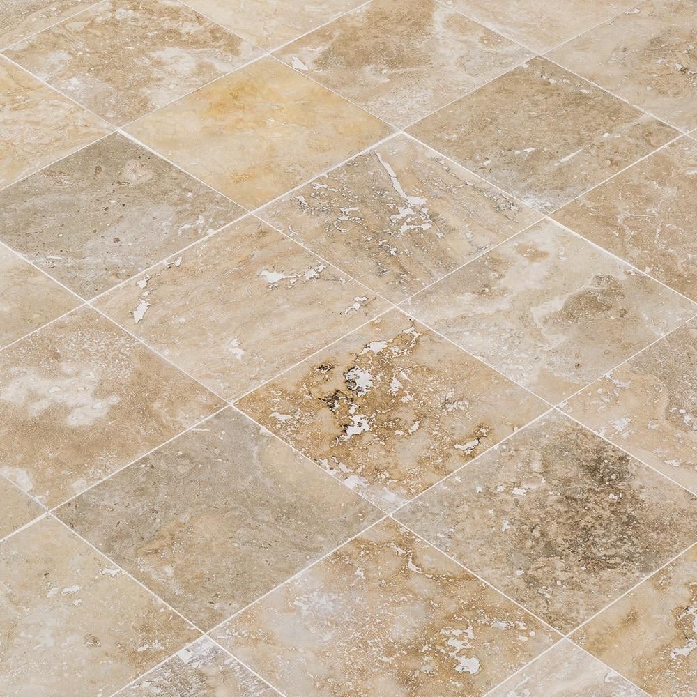 FREE Samples: Kesir Travertine Tiles - Honed and Filled Mina Rustic ...