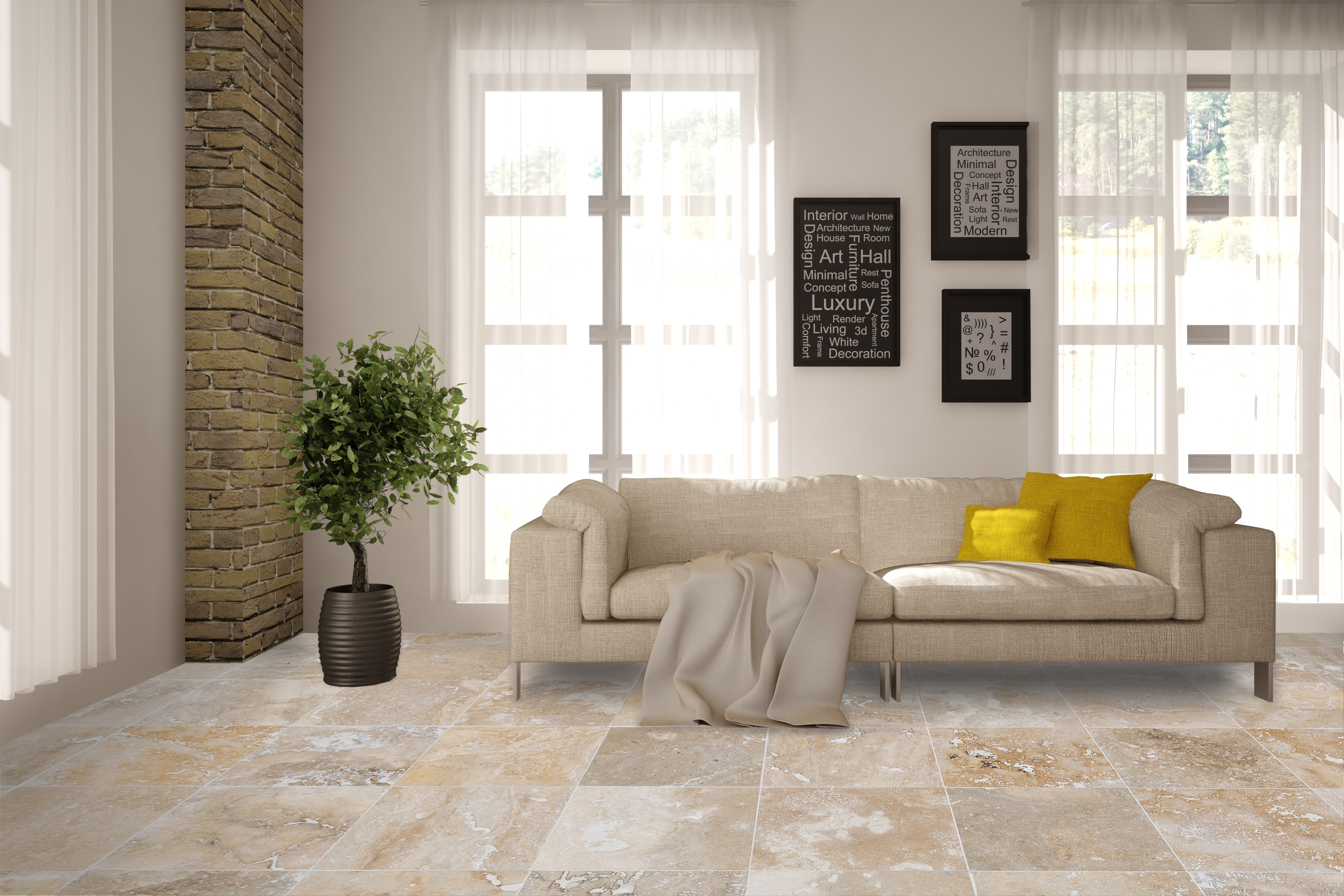 Free samples kesir travertine tiles honed and filled mina rustic 18x18x1 2 honed and filled