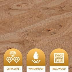 Jasper Waterproof Engineered Hardwood Celestial SPC Click-Lock Collection