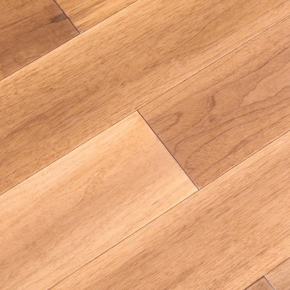 "Natural / Walnut / Smooth / 5"" x 2/5"" Engineered Hardwood-American Walnut Collection 0"