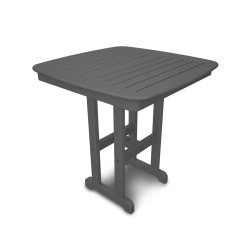 Nautical 37 Counter Table Slate Grey 1 Piece